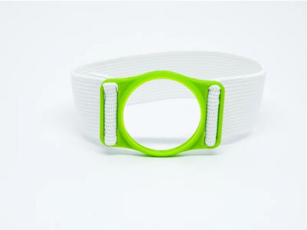 Diabeters sensorhouder neon groen